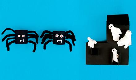 Ideeën voor Halloween knutsels