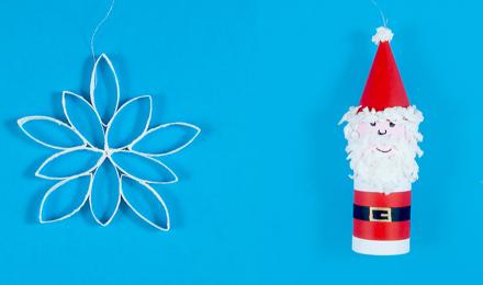 Knutselen voor kerst: originele kerstdecoraties zelf maken