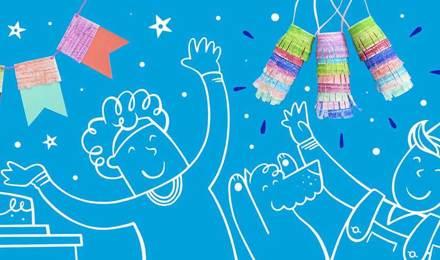 Creatieve decoratie voor een kinderfeestje: versiering zelf maken