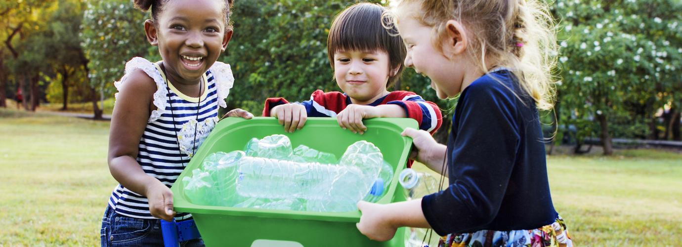Wij verkleinen, vernieuwen of recyclen onze verpakkingen